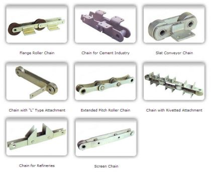 Special Purpose Conveyor Chains Manufacturers & Suppliers in India